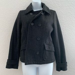 Old Navy Gray wool blend coat